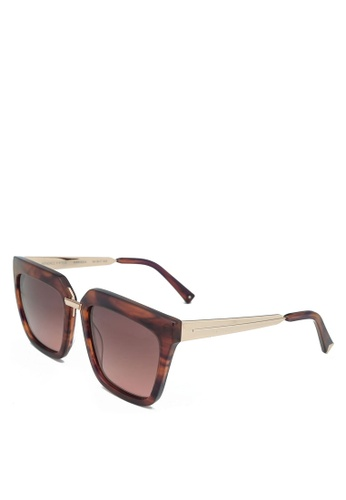 Kendall + Kylie orange Karissa Sunglasses 25651GL365452CGS_1