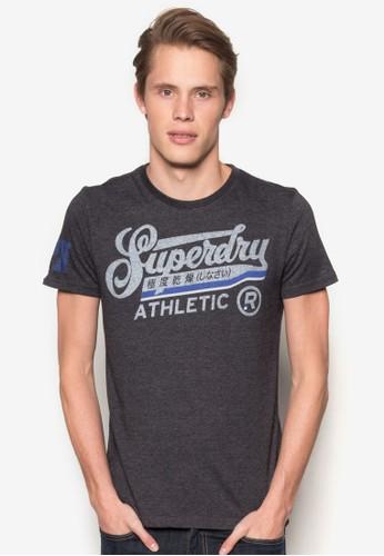 Desprit分店地址ouble Drop Athletic 圖文設計Tee, 服飾, 服飾