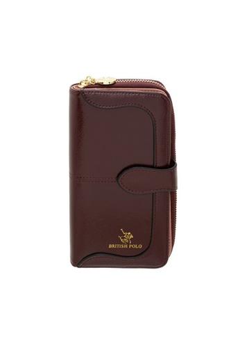British Polo red British Polo Shine Wallet 5FE82AC88E5A90GS_1
