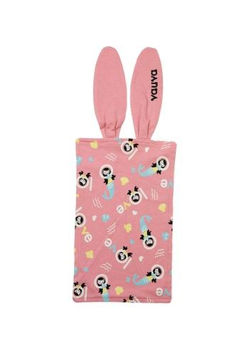 Vauva pink Vauva Baby Organic Cotton Mermaid Sweat Pad FCB4EKC831D900GS_1