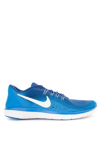 Nike blue Men's Nike Flex 2017 RN Running Shoes NI126SH0SFB5MY_1
