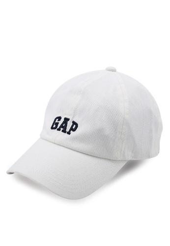 GAP white Logo Baseball Hat 08FD0AC944D1ACGS_1