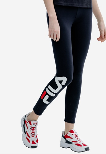 b6e75a8df72dd Buy Fila ORIGINALE FILA Logo Leggings Online on ZALORA Singapore