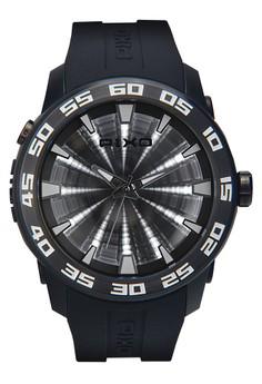 Time Tunnel Watch PX-8JPBBK-01