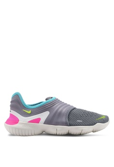 57f3245d Nike grey Women's Nike Free RN Flyknit 3.0 Shoes 91650SH7A291BDGS_1
