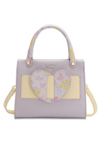 PLAYBOY BUNNY purple Women's Sling Bag / Shoulder Bag / Crossbody Bag 1942DAC9654608GS_1