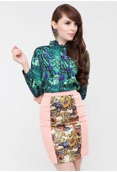 Vietnam Pencil Skirt