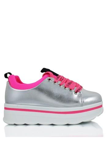 GOSH silver Bolzano-288 Luce Wedges Sneakers 541F1SHD350AD9GS 1 bf54b40b55