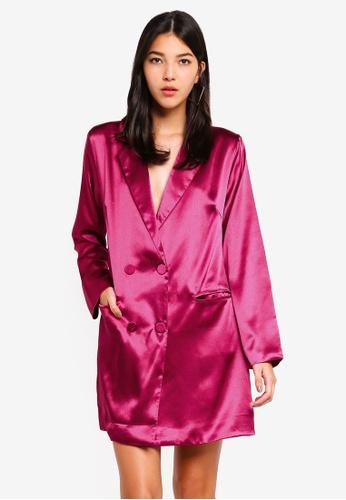 Glamorous pink Blazer Dress 97FE1AA7C0F66EGS_1