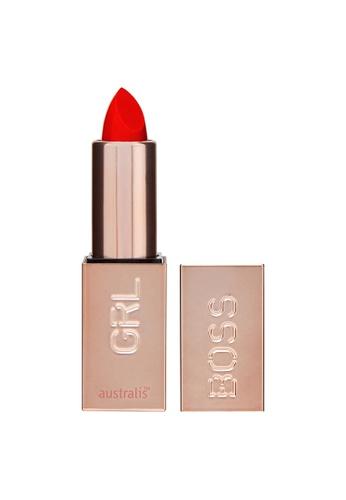 Australis red Australis GRLBOSS Matte Lipstick Editorial C7F7ABE34D8E6BGS_1