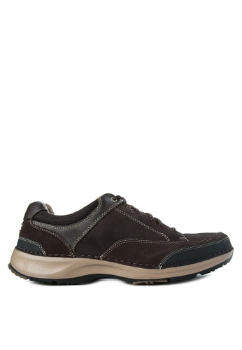 Rockport brown Rsl Five Lace Up Smart Casual Shoes RO474SH03WFWPH_1