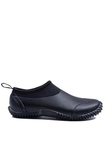 Twenty Eight Shoes black Unisex Edgy Design Rain Shoes VR30 A918ASH3B46FCFGS_1