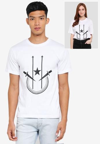 Klozet Kuala Lumpur white Identimetry T-Shirt (Kelantan) KL475AA0SRMPMY_1