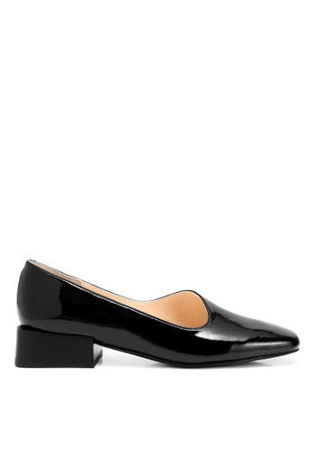 RABEANCO black RABEANCO MIRANDA MIRROR Block Heels - Glossy Black 5F81CSHE5BB262GS_1