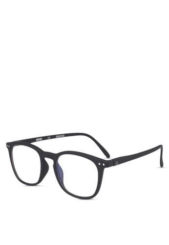Izipizi 黑色 SCREEN #E Black Soft +0.00  Screen Glasses 2D329GL3D5FA60GS_1