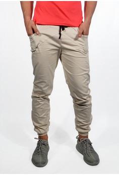 Men's Jogger Pants - Detail Pocket