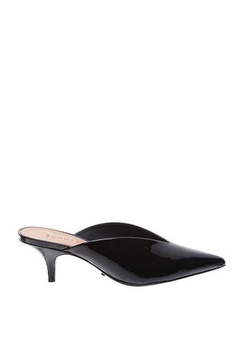 SCHUTZ 黑色 SCHUTZ 尖頭低跟涼鞋 - OLGA (黑色) 2E07ASH5104FEFGS_1