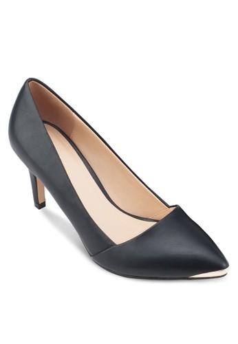 金屬尖頭esprit 品牌細跟高跟鞋, 女鞋, 鞋