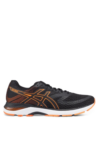 Asics black Gel-Pulse 10 Shoes 0F49ESH7EFFDC2GS_1