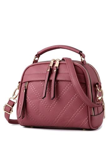TCWK pink Ladies Sling Bag TC258AC92XEPMY_1