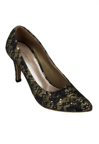 Claymore High Heels MZ BR09 Black