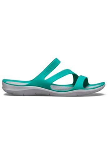 58d96f8a8b9e Crocs green Crocs Women s Swiftwater Sandal TTl Lgr B88B3SH055F0D9GS 1