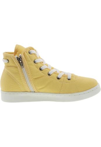 Maxstar yellow Maxstar Women's 020 Hidden Heel Canvas Tennis Shoes US Women Size MA164SH35PSYSG_1