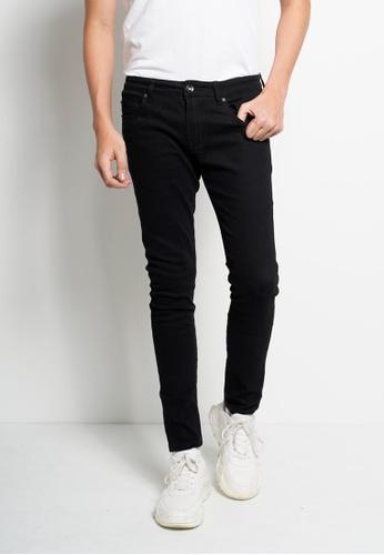 Hi Style black Long Jean Skinny Fit E9512AAF351803GS_1