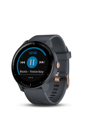 Garmin blue Vivoactive 3 ®  Music Granite Blue 64326AC0DF1FD5GS_1