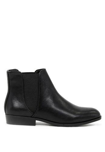 London Rag 黑色 黑色短靴 SH1693 D6B07SH7C0C087GS_1