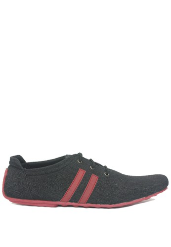 Dr. Kevin black and red Dr. Kevin Men Casual Shoes 13330 - Black/Red 4C62DSHDBCC7EDGS_1