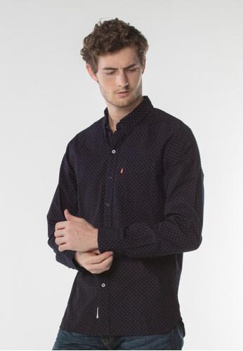 Levi's blue Sunset One Pocket Shirt 03954AA23F2BF8GS_1