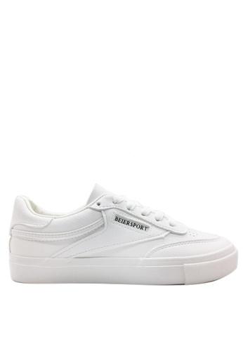 Twenty Eight Shoes 白色 Speed 簡約波鞋 6807 01FFDSH0F6409EGS_1