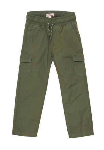 Du Pareil Au Même (DPAM) green Khaki Pants CE42EKA8227A1FGS_1