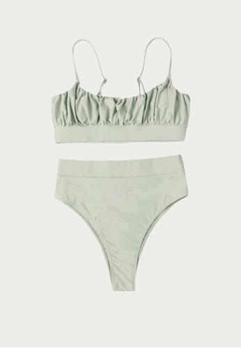 Bluepalm green Malapascua in Olive Two-Piece Swimsuit 615B3USEDF9515GS_1