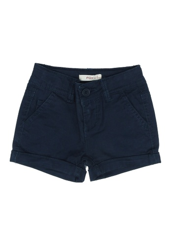 FOX Kids & Baby navy Chino Shorts 1A547KABDEBAEDGS_1