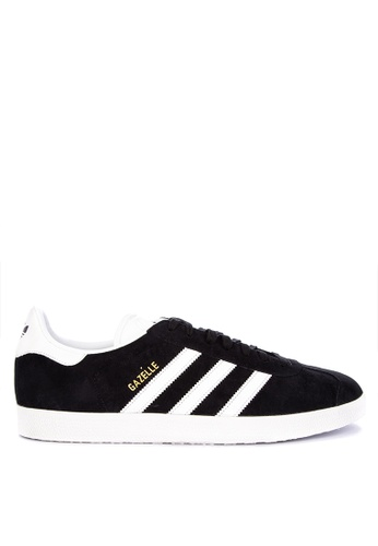 adidas black adidas originals gazelle 417E3SHA4780A6GS_1