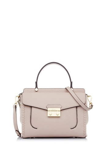 BONIA pink Blush Pink Broad Satchel M AD4CEAC6389D9BGS_1