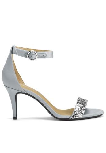 Aerosoles silver Rachel Heeled Sandals 9D3ECSH4B33475GS_1
