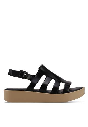 Melissa 黑色 Melissa Boemia Platform Ad Sandals ME121SH0STJVMY_1