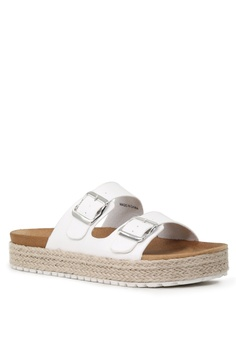 e4ed09b15d5b 11% OFF London Rag Espadrille Flatform Wedges S  44.99 NOW S  39.99  Available in several sizes · London Rag silver Embellished Flat ...