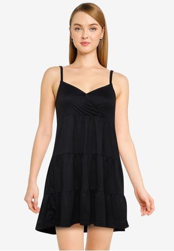 Hollister black Bare Knit Dress 9F060AA22D35D7GS_1