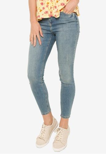 LC Waikiki blue Ankle-Length Super-Skinny Jeans 7A11DAAAA19672GS_1