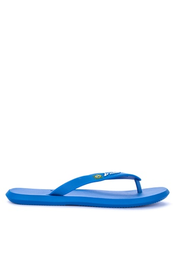 Rider blue R1 Ad Flip Flops 52196SHD2BD1E8GS_1