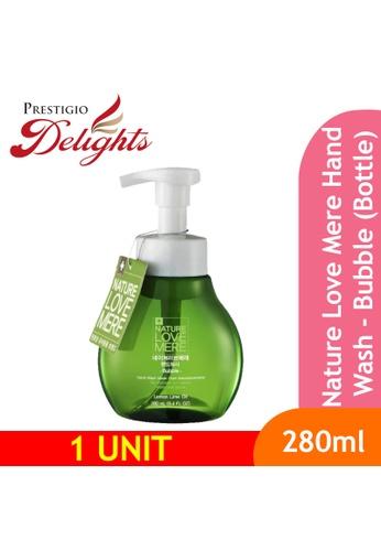 Prestigio Delights black Nature Love Mere Hand Wash - Bubble (Bottle) 280ml 293C2BE9FDDC1DGS_1