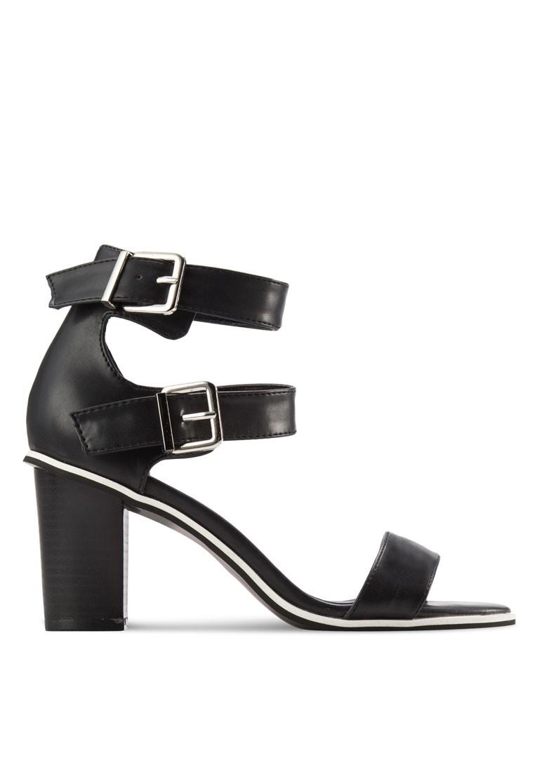Double Cuff Sandal Heel