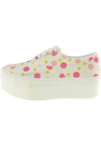 Maxstar Maxstar Women's C50 5 Holes Platform Canvas Low Top  Sneakers US Women Size MA168SH00BQTHK_1