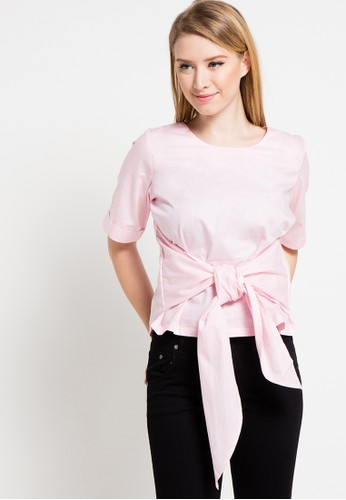 Contempo pink Blouse S/S CO339AA17LMKID_1