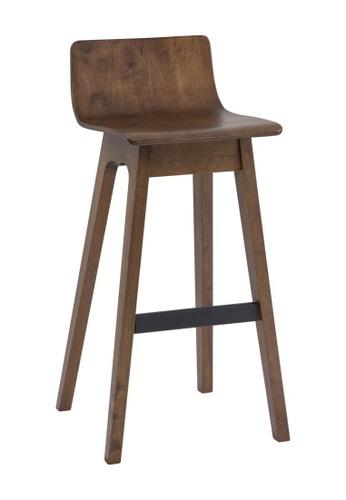 DoYoung brown MORPH (Set-of-2 SH74.5cm Walnut) Bar Chair 8F138HLADD9A16GS_1