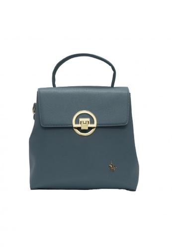 POLOVENZI blue POLOVENZI Ladies Hand Bag + Free Gift 74CB0AC60ABA22GS_1